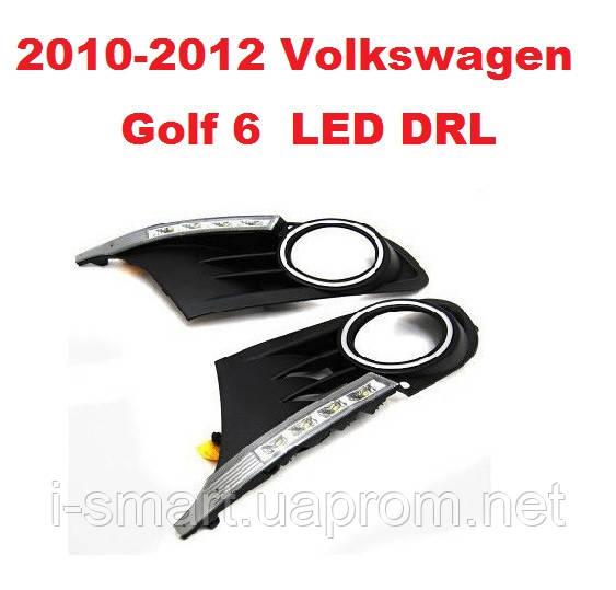 DRL дневный ходовый огни на 2010-2012 Volkswagen Golf 6