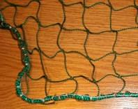 Сетка оградительная (разделительная)сетное полотно яч 40х40 д.шн.1,8мм , зеленая
