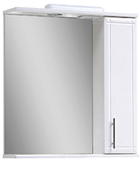 Зеркало с пеналом и подсветкой Z-1/4 55 правое