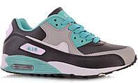 Спортивная женская обувь, кроссовки серые