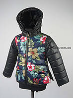 Куртка для девочек  демисизонная 3-6 лет цвет темно синий