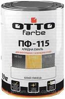 ОТТО эмаль масляно - фталиевая ПФ-115  0,9 кг