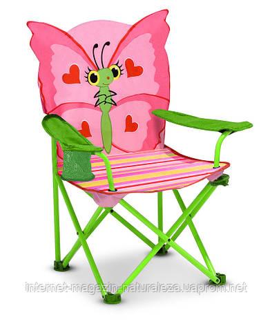 """Раскладной детский стульчик """"Бабочка Белла"""" ТМ Melissa&Doug, фото 2"""