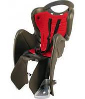 Сиденье заднее BELLELLI MR FOX Relax B-Fix Черный/красная подкладка
