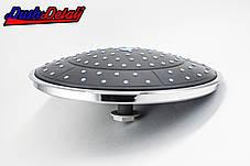 Лейка потолочная для душевого бокса и душевой кабины диаметром 250 мм. пластиковая ( L-250 ) с съемным штоком, фото 2