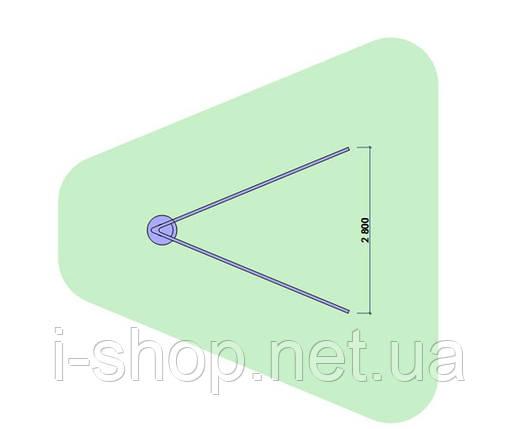 Дитяча гойдалка-маятник Ураган KIDIGO КА 006, фото 2