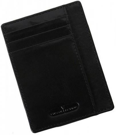 Чудесный кожаный картхолдер Vip Collection K2A NP черный