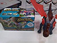 Динозавр дракон музыкальный в коробке размером 12,5х11х12,5 см, арт.9789
