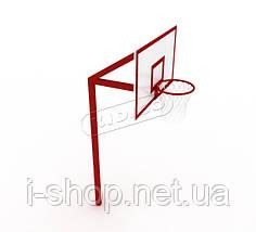 Баскетбольная стойка профессиональная без сетки SO006, фото 2