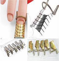Многоразовые формы для наращивания ногтей. 5 шт