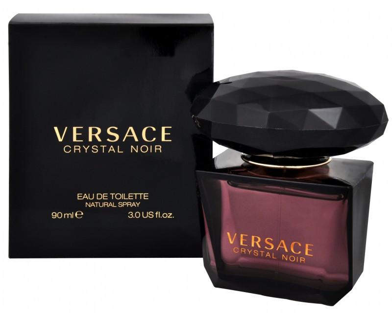 Женская туалетная вода Versace Crystal Noir (Версаче Кристал Ноир) 90 мл