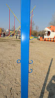 Стойка для бадминтона и волейбола на крючках уличная / пляж