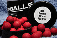 Бойлы Карпболлы Carpballs Pop Ups 10 mm Hot Demon