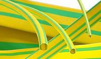 Термоусадочная трубка ТТУ 1/0,5 желто-зеленая