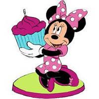 Свечи для торта Минни Маус