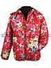 Куртка для девочки 1535 весна-осень, размеры 86- 110 (1,5-5 лет), красный