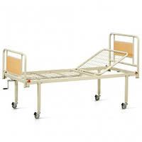 Кровать металическая функциональная двухсекционная на колесах OSD