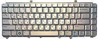 Клавиатура для ноутбука Dell Inspiron: 1420, 1521, 1545; Vostro: 1400, 1500; XPS: M1330, M1420, M1530 rus, (PV8XK) Silver