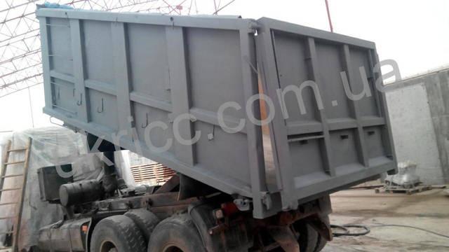 струйная очистка грузового автомобиля 12
