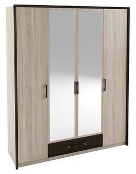 Большой шкаф 4Д Скарлет  Сокме