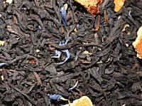 Чай черный листовой с апельсином 100г