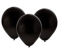 Шарики воздушные Чёрные 10 дюймов