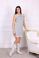 Женское платье с ажуром ТМ Роксана