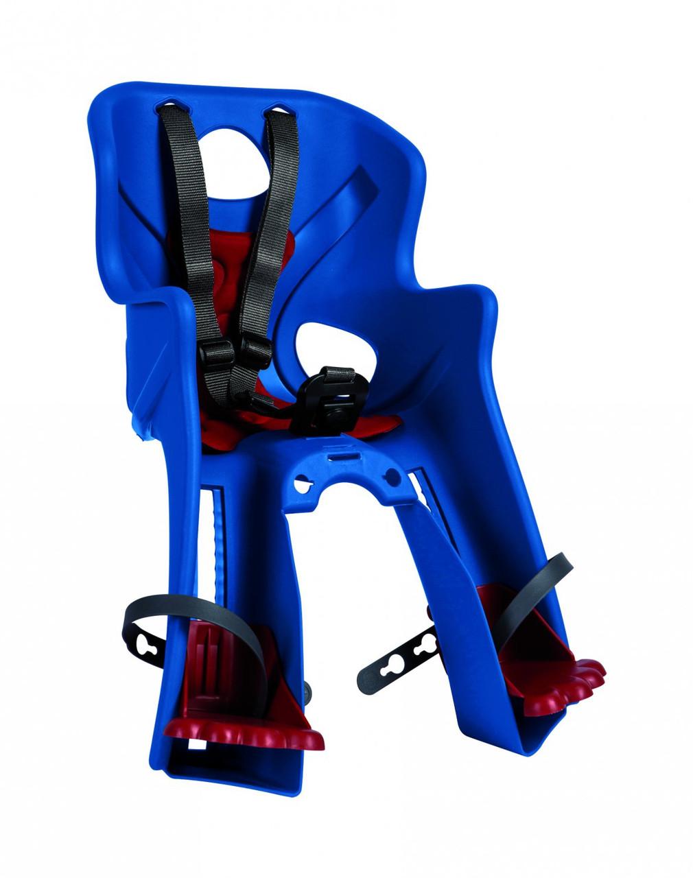 Сиденье переднее BELLELLI Rabbit handlefix BLUE детское (сине-красный)
