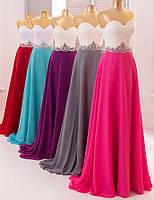 Вечернее платье (18) (цвет - баклажан, 46-48)