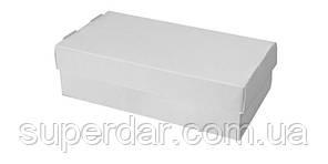 Упаковка для суші та інших страв, 100х200х50 мм, біла