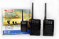 Радио с функцией рации (PTT) В комплекте 2 штуки Golon RX-D3 ZVV