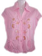 Блуза женская летняя на пуговицах