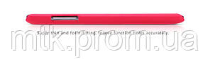 Чехол-бампер и плёнка NILLKIN для телефона Lenovo K910 VIBE Z красный