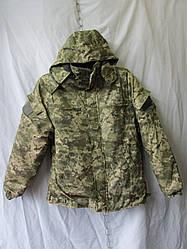 Куртка бушлат на меху камуфляж