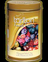 Чай Тарлтон черный Лесные ягоды 100 г ж/б