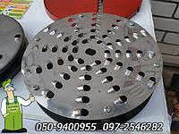 Запчасти для корморезок. Режущий диск 26 см диаметром,  насадка к измельчителю (Нержавеющая сталь),