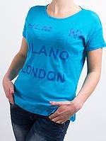 Спортивная женская  футболка