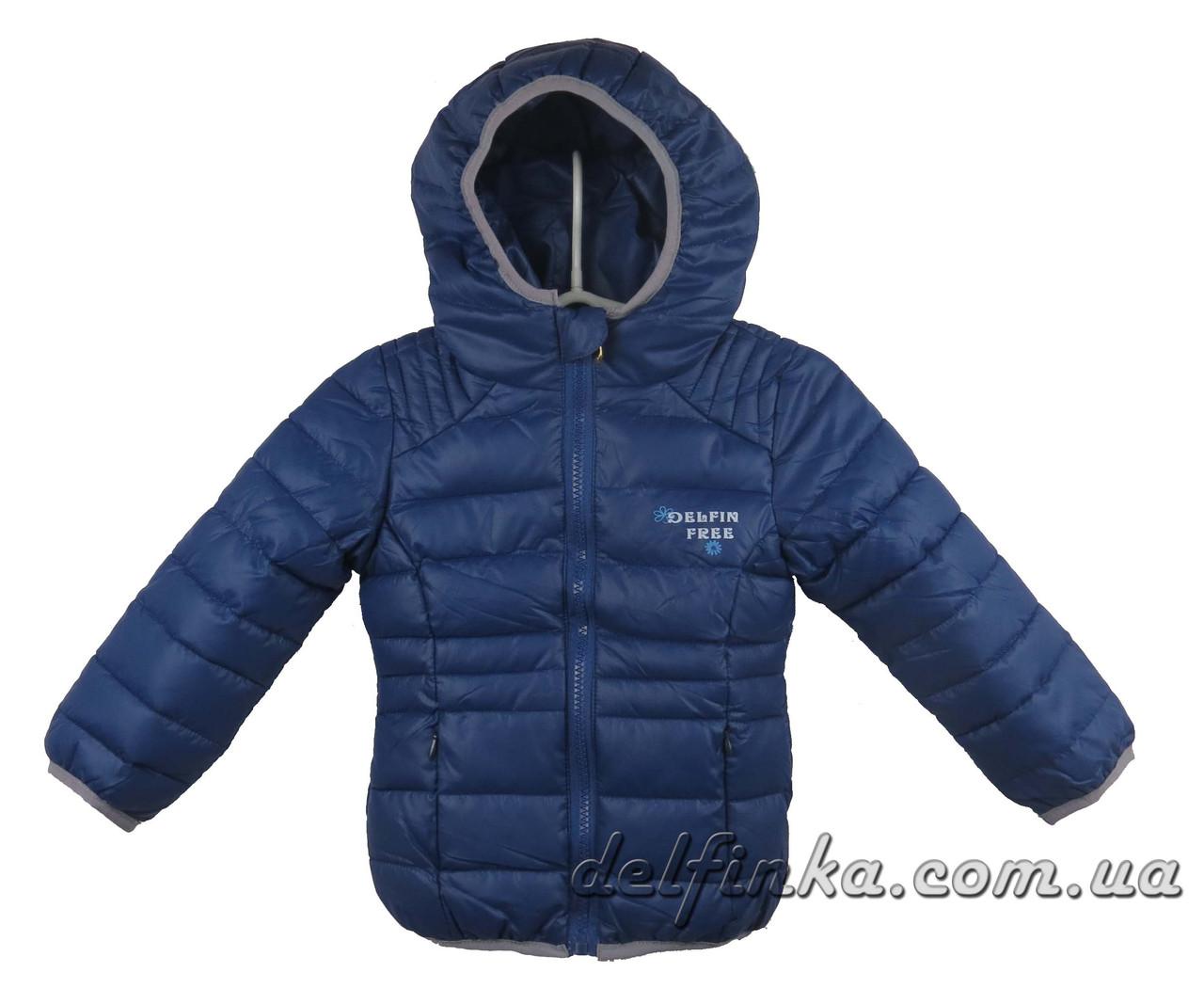 Куртка  18-60  демисизонная 1-5 лет цвет синий, фото 1