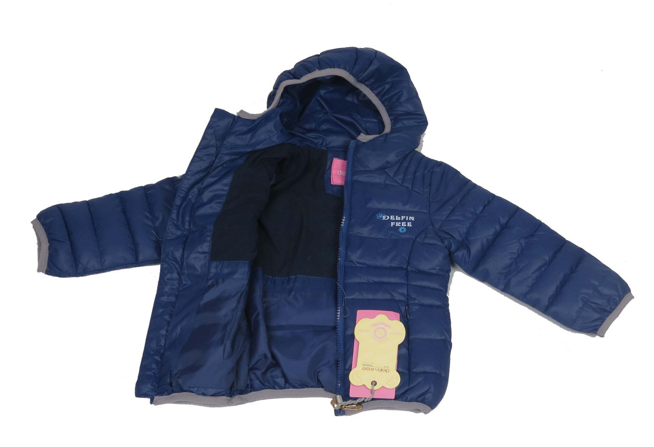 Куртка  18-60  демисизонная 1-5 лет цвет синий, фото 2