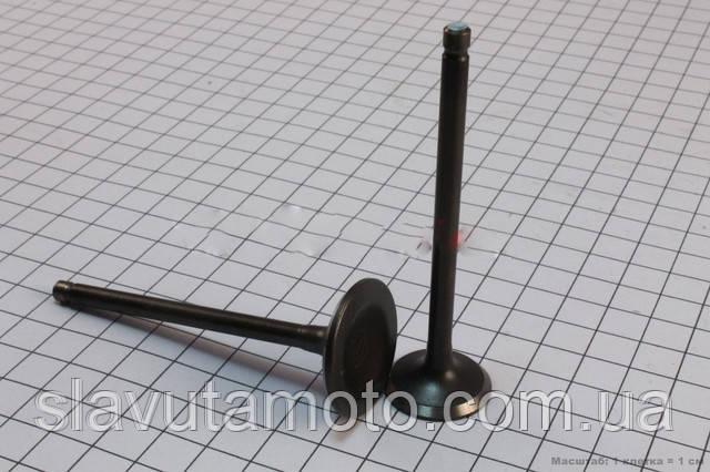 Клапан впускной, выпускной к-кт 150cc (TATA)  (скутер 125-150куб.см), фото 1