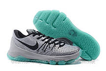 Кроссовки мужские Nike KD 8 Grey Black Light Blue