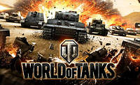 Вафельная картинка для тортов World of Tanks