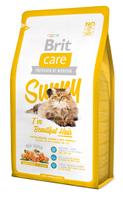 """Брит Кер """"Санни"""" 7кг, для здоровья кожи и шерсти кошек, гипоалергенный сухой корм"""