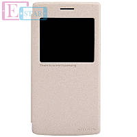 Чехол-книжка NILLKIN для телефона OnePlus  A0001 золотистый