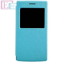 Чехол-книжка NILLKIN для телефона OnePlus  A0001 синий