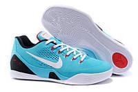 Кроссовки мужские  Nike Zoom Kobe 9  голубого цвета
