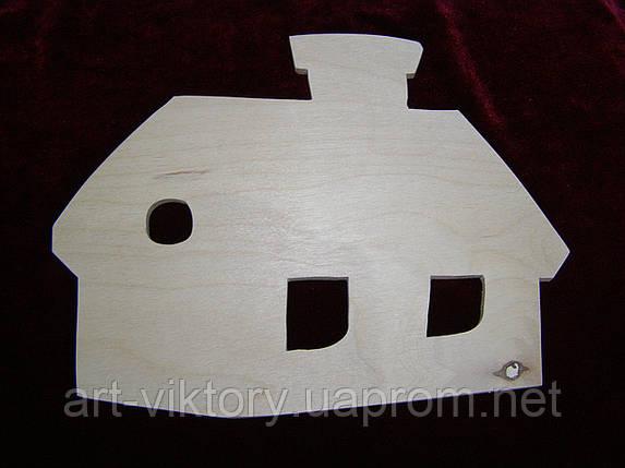 Трафарет домик, фото 2