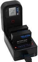 Aksline Зарядное устройство для аккумуляторов и пульта GoPro HERO4