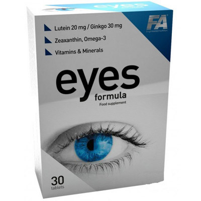 Вітаміни для очей Eyes Formula Fitness Authority 30 tabs