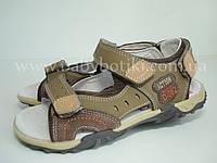 Кожаные сандалии B&G. Размеры 35, 35.